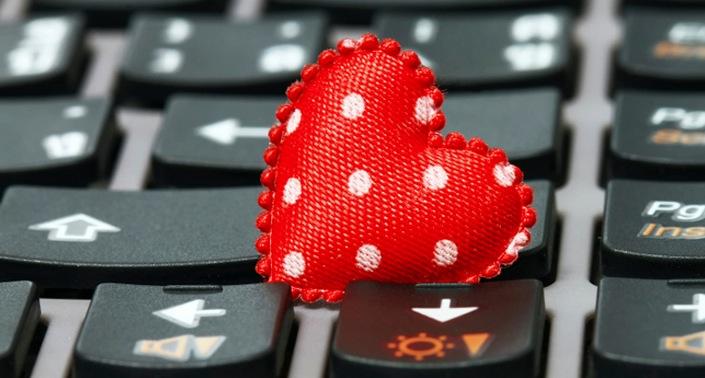 l'amour sur le web