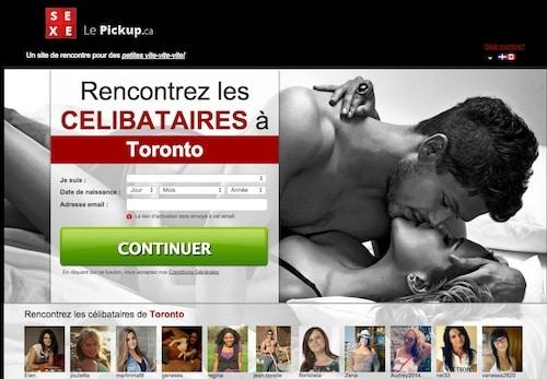 Un site sexy pour ceux qui veulent connaître des histoires d'un soir