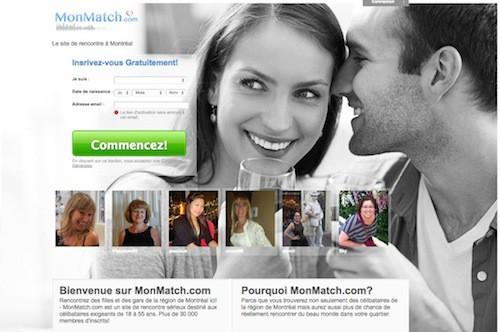Les rencontres en ligne sur Montréal