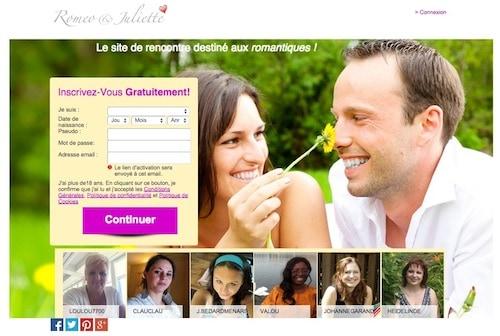 Un site où la romance est au rendez-vous!