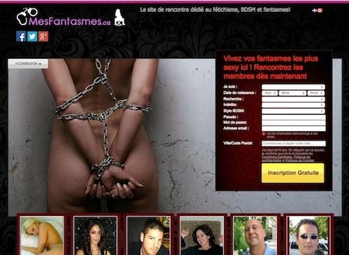 Le site recherché pour les fétiches, le BDSM et les fantasmes!