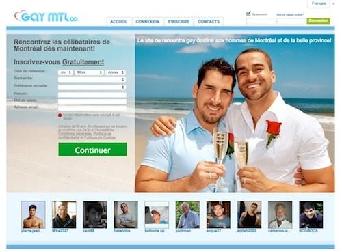 Site de rencontre à Montréal pour hommes seulement: GayMTL.ca