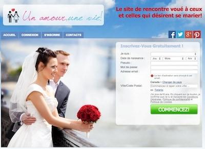 Vous désirez vous marier un jour? Voilà un site de rencontre unique pour vous