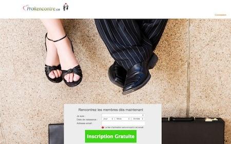 Un site pour la rencontre entre célibataires qui sont aussi des professionnels